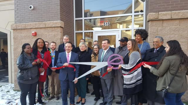 "Westgate, a new apartment complex in what's now known as ""Downtown West"" officially opened in Bridgeport."