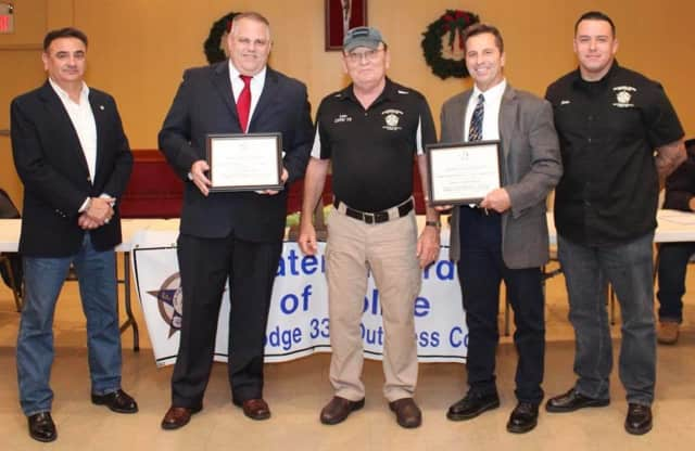 Several Dutchess County police officers were recently honored for their service.