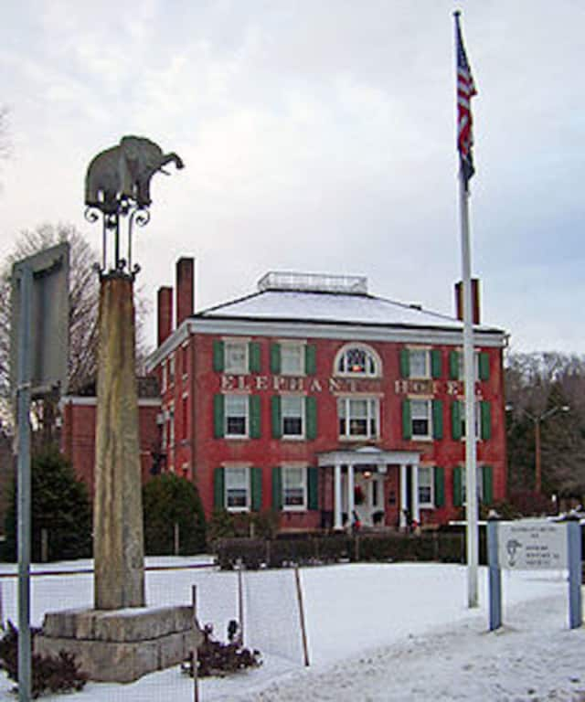 The original Elephant Hotel building was purchased by the Town of Somers in 1927 and now houses the town offices, the Somers Historical Society, and on the third floor, the Museum of the Early American Circus.
