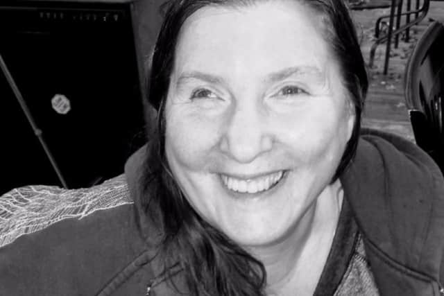 Linda Richardson was killed by a hit-and-run driver while walking on Sandy Lane near Homestead Lane in Brookfield on Monday night.