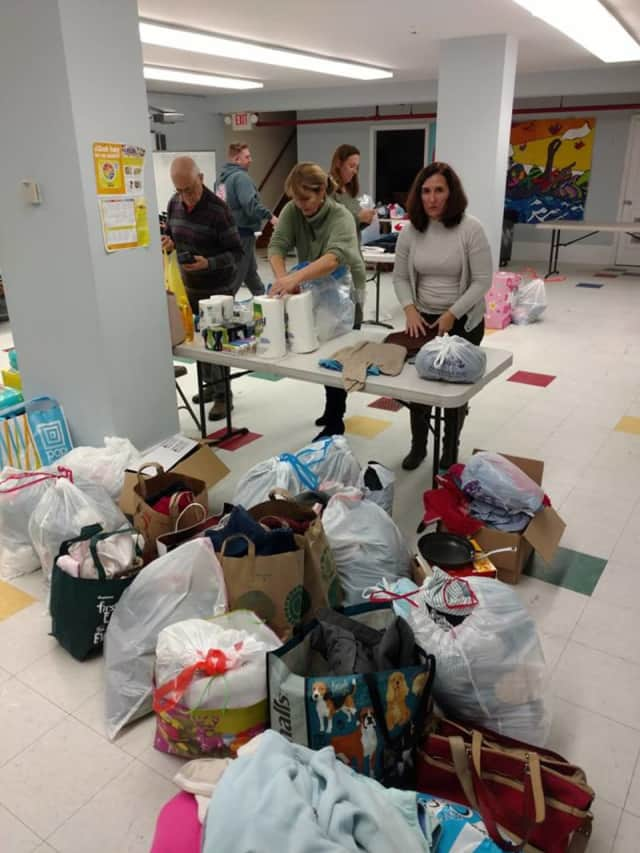 Mamaroneck has been collecting donations for families displaced by a Friday night fire.
