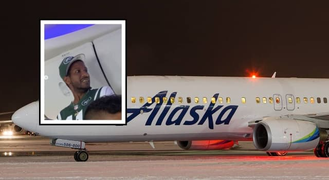 Jwan Curry went on a profanity-filled tirade forcing an Alaska Airlines plane to make an emergency landing.