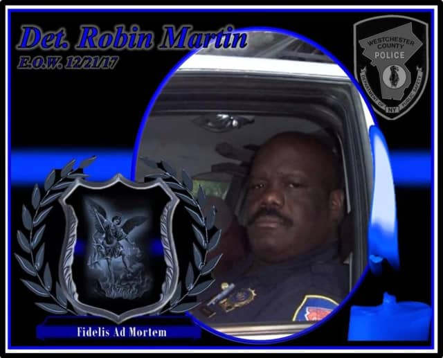 Westchester County Police Det. Robin Martin.