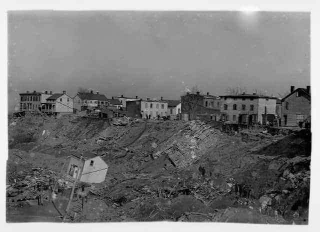 A landslide in Haverstraw killed 19 people in 1906