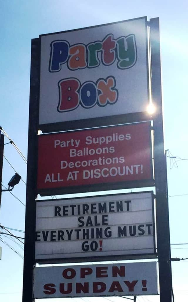 The Party Box in Lodi is closing up shop.