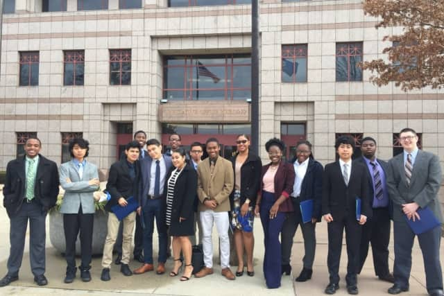 11 students of Kolbe Cathedral High School in Bridgeport are raising funds to attend the YMCA Youth & Government State Conference in Hartford.