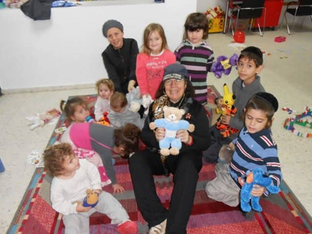 Rabbi Claire Ginsburg Goldstein has brought hundreds of thousands of bears to children in the Middle East and elsewhere.