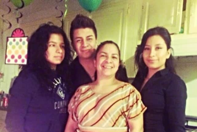 The Rodriguez family.