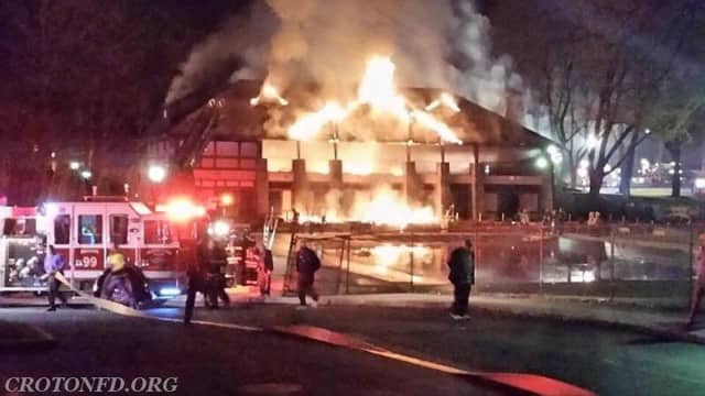 A teenager has been arrested in connection to the Briarcliff Manor Pavilion fire two years ago.