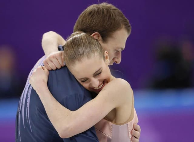 Paige Conners, 17 of Edgewater, and Evgeni Krasnopolsky, 29 of Hackensack, finished 19th best in the world at the Olympics in South Korea.