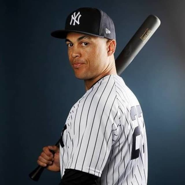 New York Yankee Giancarlo Stanton.