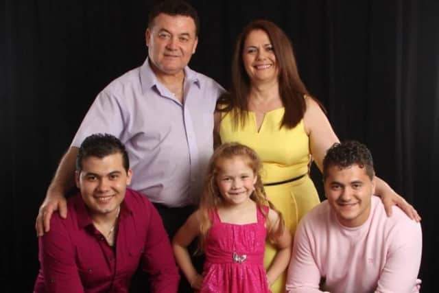 The Pukri Family of Clifton. Parents Vitor and Neta were recently deported to Albania, leaving their children behind.