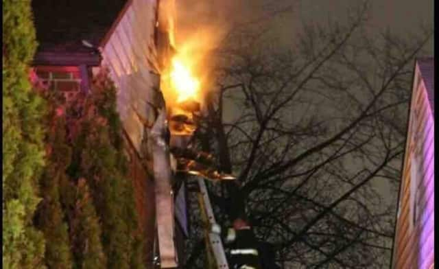 A Hasbrouck Heights family of four was displaced following a house fire earlier this month.