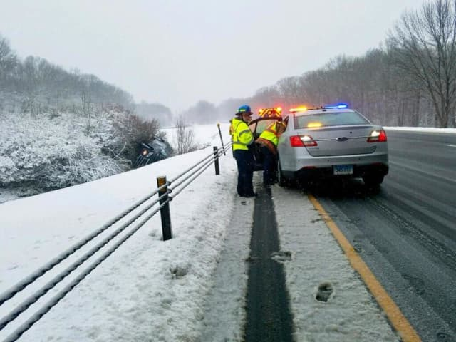 Connecticut State Police responded to 7,205 calls for service over the Thanksgiving weekend.