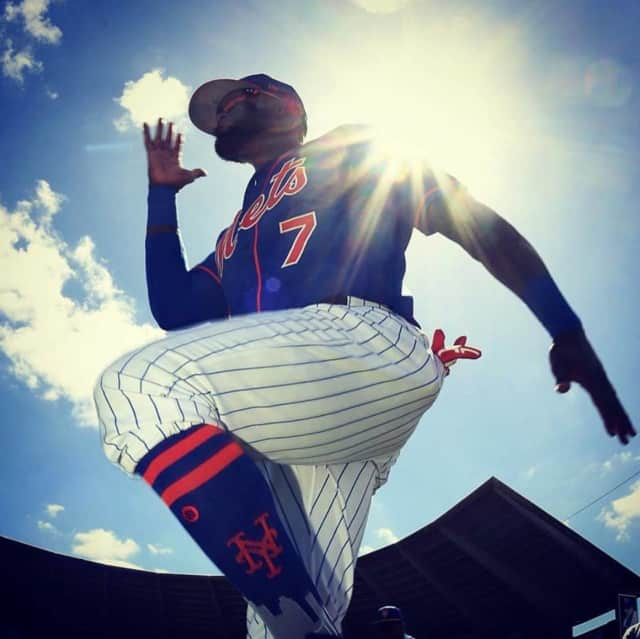 Jose Reyes and other New York Mets players are flocking to a Port St. Lucie supermarket with Paterson roots for a familiar taste of home.