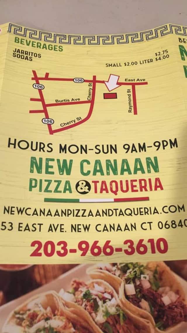 New Canaan Pizza & Taqueria