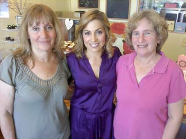 Jane Fieder (left) with Lesley Nagy, Correspondent of The Better Show and Miriam Bloom.