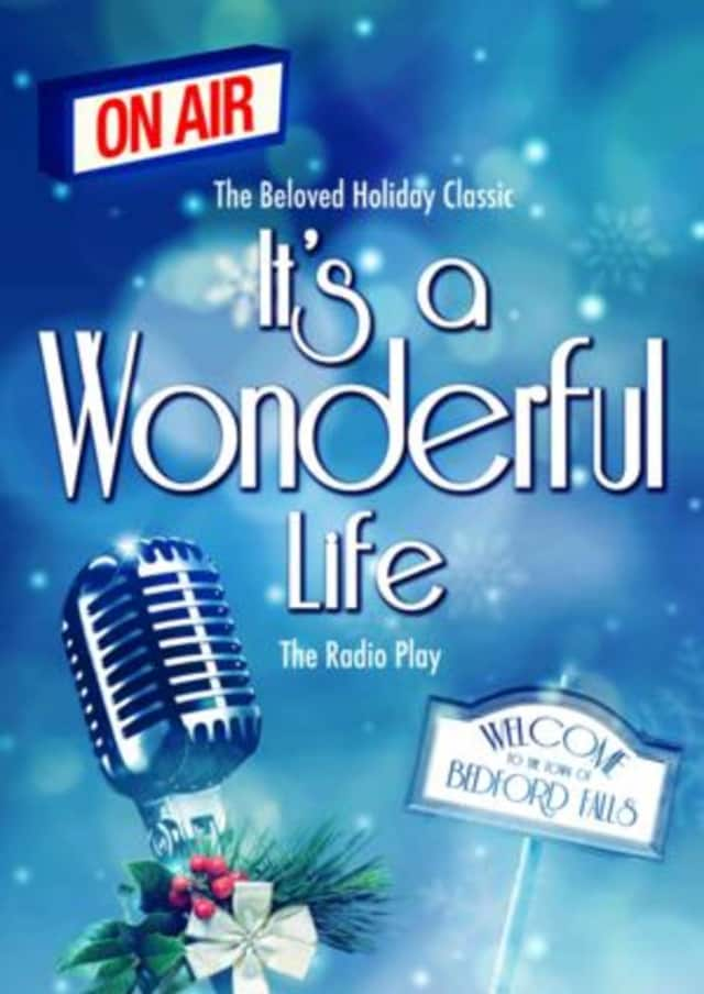 """A live radio play, """"It's A Wonderful Life"""" will run in December at Antrim Playhouse in Wesley Hills"""