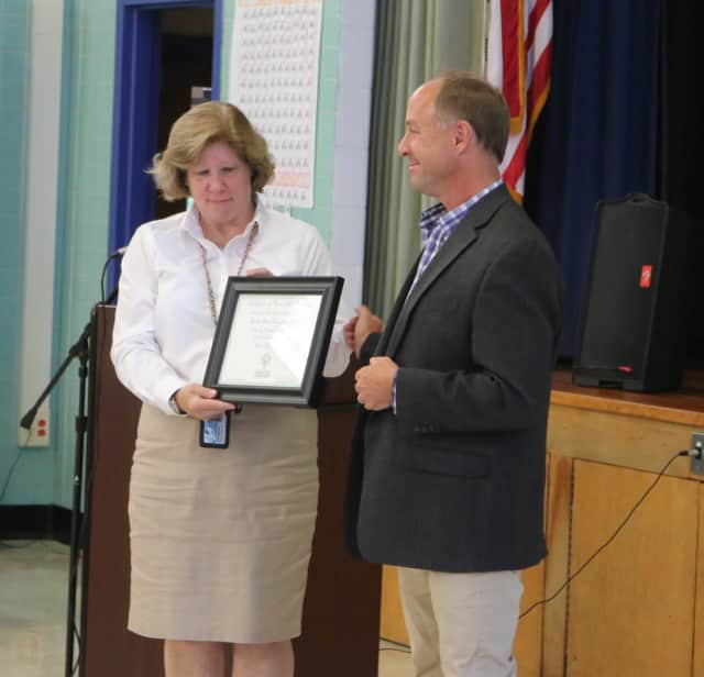 Lincoln-Titus Elementary School was honored by Sandy Hook Promise.