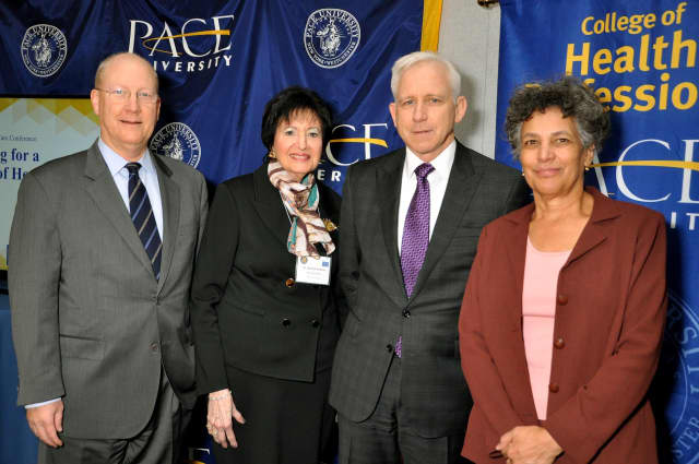 Healthcare professionals met at Pace University to discuss an array of topics, including community health issues in the New York metro area.