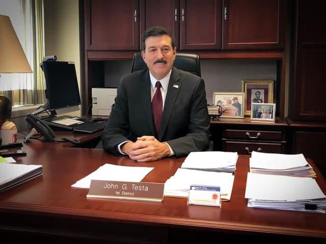 Longtime Westchester Legislator John Testa