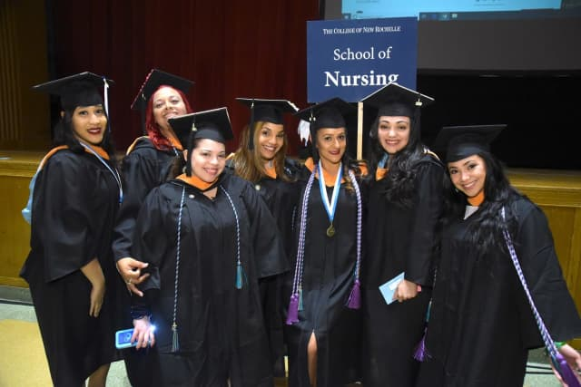 Graduates from CNR's School of Nursing;