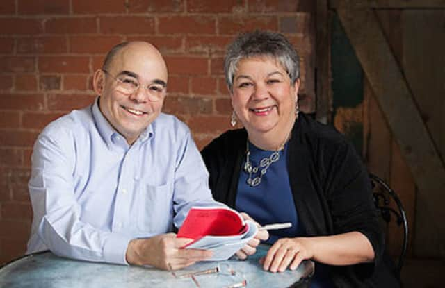 Gary and Francesca Scarpa, artistic directors of Shelton's Center Stage Theatre, Inc.