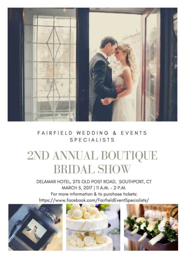 The Knot is the sponsor of the 2nd Annual Boutique Bridal Show Sunday, March 5 in Southport.