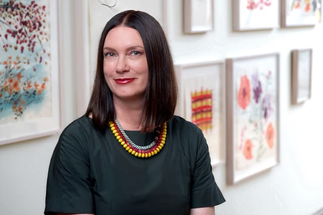 Elissa Auther has been appointed deputy director of curatorial affairs and William and Mildred Lasdon chief curator at the Museum of Arts and Design in Manhattan. Photograph by David Lewis Taylor. Courtesy Museum of Arts and Design.