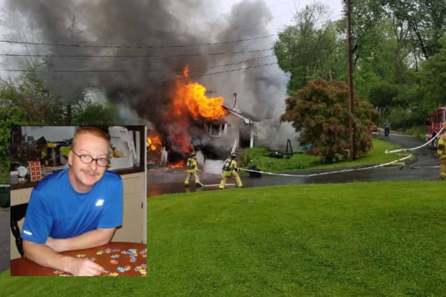 Danbury EMT Greg Flower lost everything in a house fire last month.