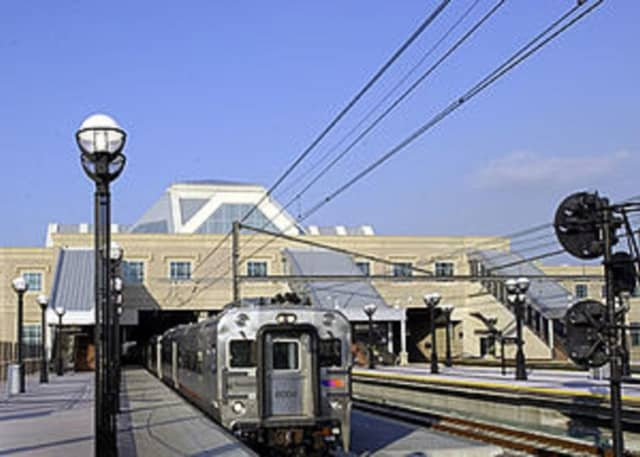 A man was not seriously hurt when the wrong doors opened on an NJ Transit train in Secaucus, spilling him onto the tracks.