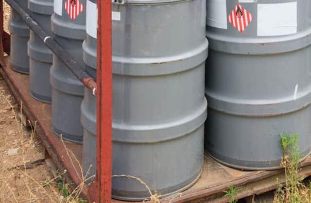 Chemicals were found dumped in Mount Vernon.