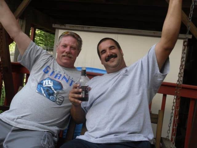 Greg Morris of Mahwah, left, was killed on Monday in an ATV accident.