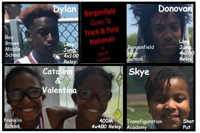 Five Bergenfield youth have qualified for national track and field Special Olympics.