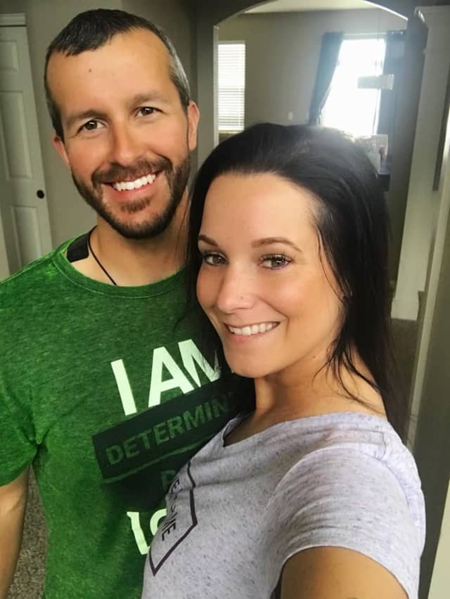 Shannan and Chris Watts.