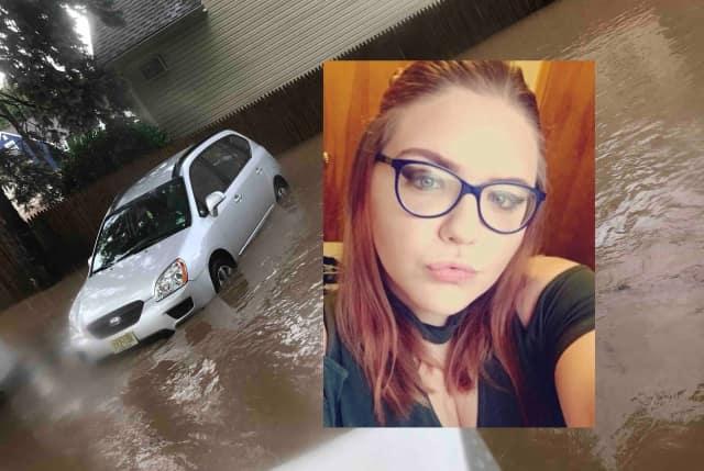 Kellie Rose Kientz of Little Falls lost her car in last weekend's torrential rain storm.