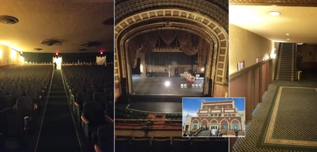 The Paramount Theater in Asbury Park