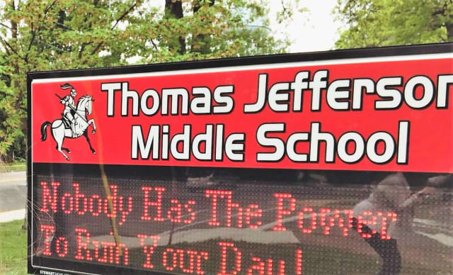 Thomas Jefferson Middle School, Morlot Avenue, Fair Lawn