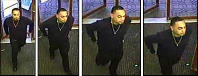 Surveillance photos of a suspect who allegedly stole from a Rite Aid in Ramapo.