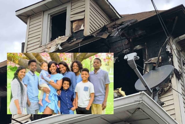 Attiyya Barrett of Clifton and her several children were displaced following an Oct. 22 house fire.