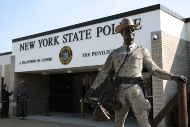 A New York State Police trooper is being investigated for allegedly pepper-spraying and threatening a family in Ulster County.