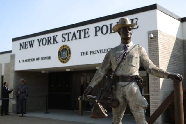 New York State Police troopers arrested 36 allegedly impaired drivers over the weekend.