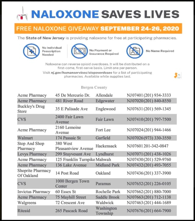 Health and law enforcement professionals emphasize that nalaxone isn't a miracle drug or fallback option.