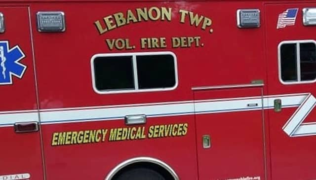 Lebanon Township Volunteer Fire Department EMS transported the teen to a local hospital with minor injuries.