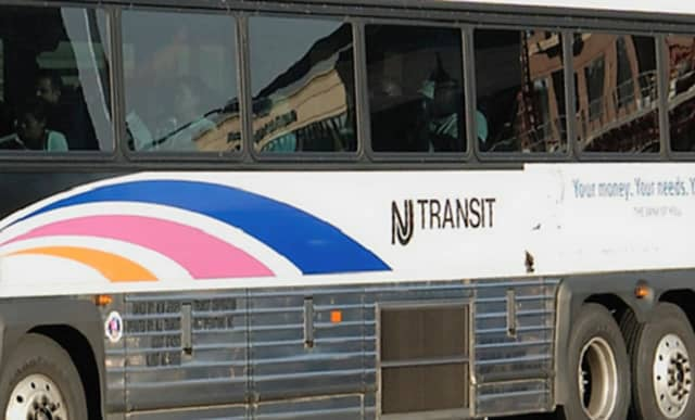 NJT police said they didn't find anything suspicious on the #167 bus from Penn Station to Dumont.