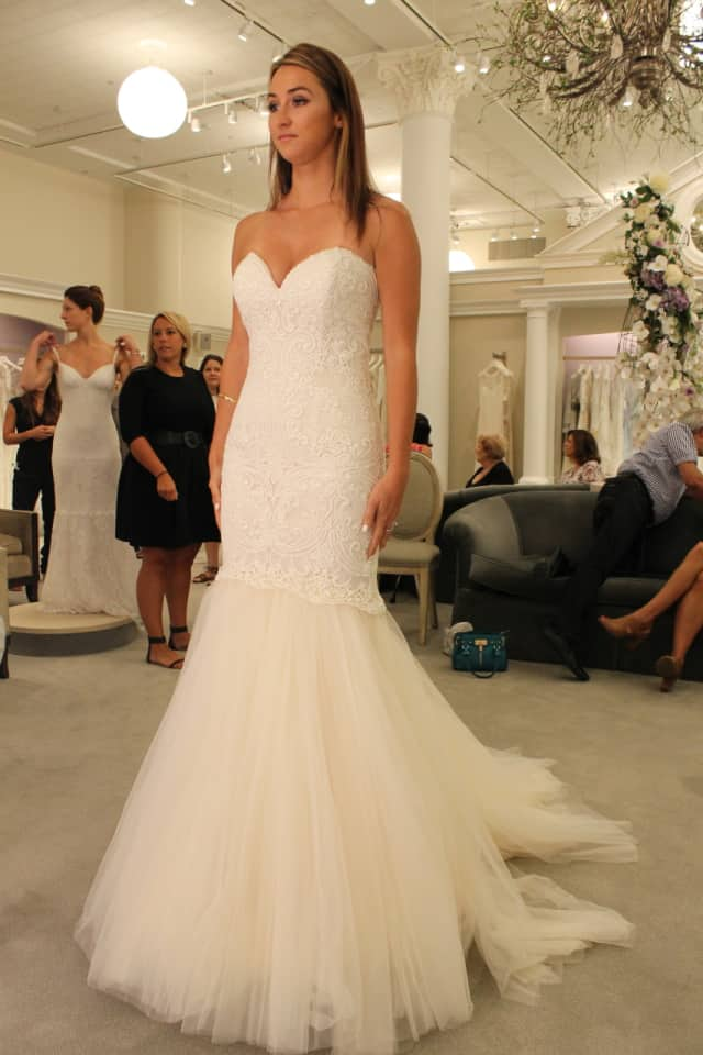 """Norwalk resident Alyssa Brezovsky is featured on 'Say Yes to the Dress."""""""