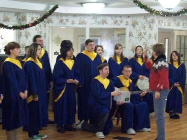 The Saddle Brook High School choir will perform at the holiday concert Dec. 22.