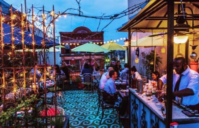 Check out these rooftop bars in Hudson County this spring.