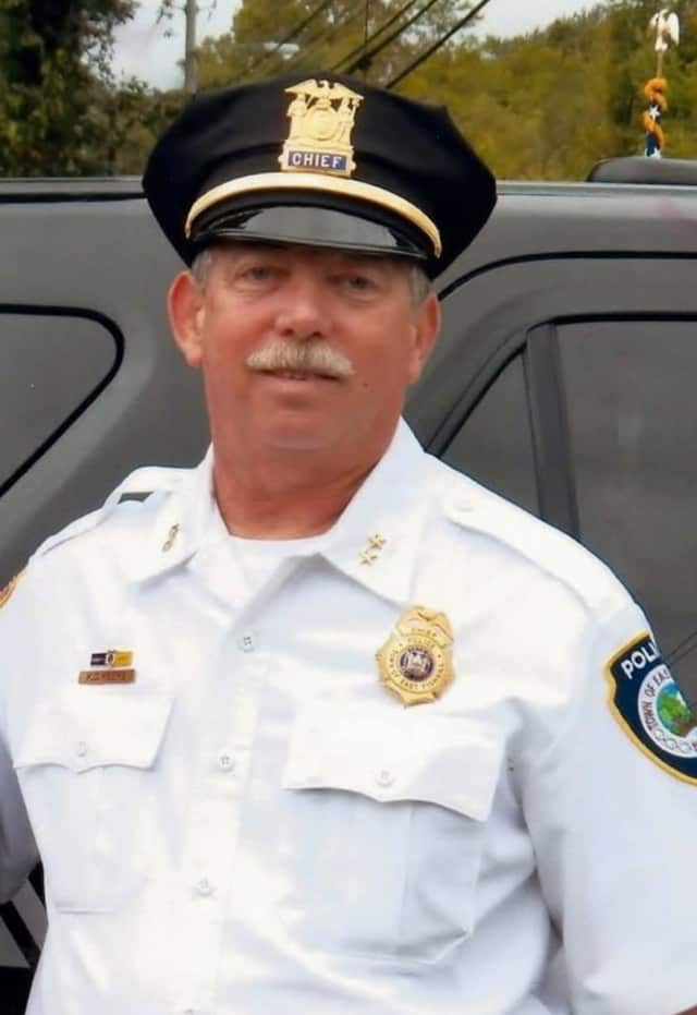 East Fishkill Police Chief Kevin Keefe