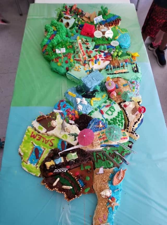 Fourth graders in New Milford had the sweetest project to finish off the year.